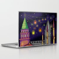 istanbul Laptop & iPad Skins featuring Istanbul  by Aleksandra Jevtovic