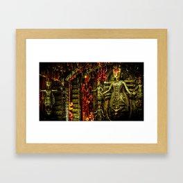 Tribal Mother Framed Art Print