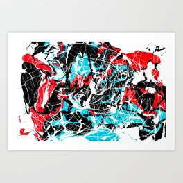 Embryo - origins of life Art Print