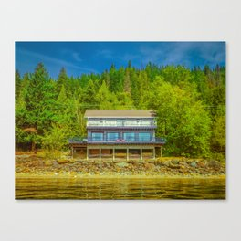 Squilax Cabin Canvas Print