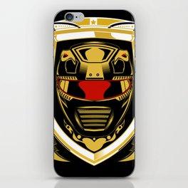 Red Ranger iPhone Skin