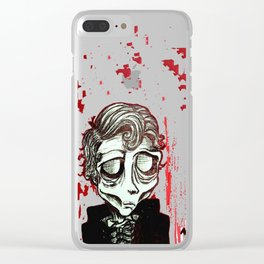Numero 11,  August Ghoul #11 Clear iPhone Case