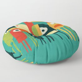 Toucan Floor Pillow