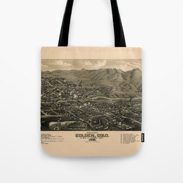 Map Of Golden 1882 Tote Bag