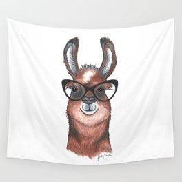 Hipster Llama Wall Tapestry