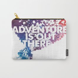 Adventure is Out there Art print Carry-All Pouch