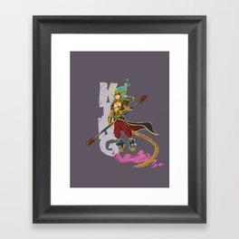King! Framed Art Print