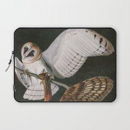 Barn Owls, the Birds of America by John James Audubon Laptop Sleeve