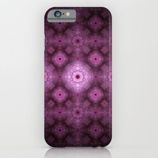 Pink Fractal Pattern iPhone & iPod Case