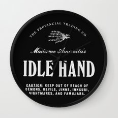 Idle Hand Wall Clock