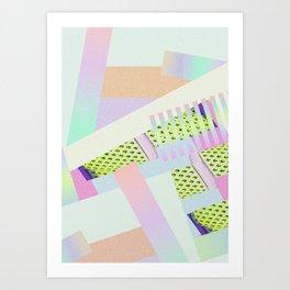 Geometric Mechanism  Art Print