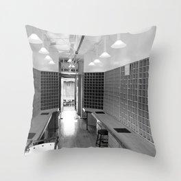 Mail Car Photography Throw Pillow