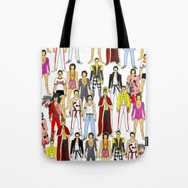 Outfits of Freddie Fashion Tote Bag