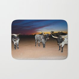 Bulls Night Out Bath Mat