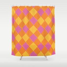 Modern Argyle 1 Shower Curtain