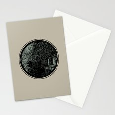 Miniature Circle Landscape 1: Morning Vision Stationery Cards