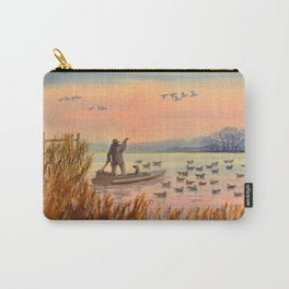 Duck Hunting On A perfect Day Carry-All Pouch