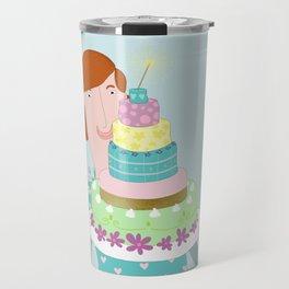 My happycake Travel Mug