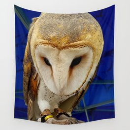 Mr. Owl the Barn Owl Wall Tapestry