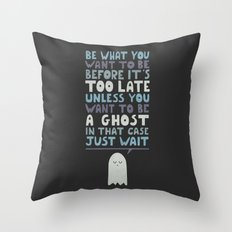 Motivational Speaker Throw Pillow