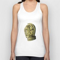 c3po Tank Tops featuring C3PO by bkpena