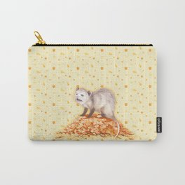Autumn Opossum Carry-All Pouch