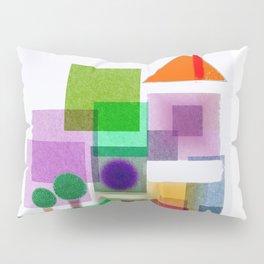 Color House Pillow Sham