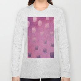 Plum Splotch Long Sleeve T-shirt
