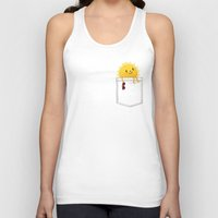 sunshine Tank Tops featuring Pocketful of sunshine by Picomodi