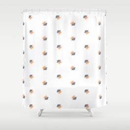 Fiery Lungs Shower Curtain