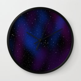 Stars Innumerable Wall Clock
