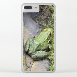 Frog, Not Toad Clear iPhone Case