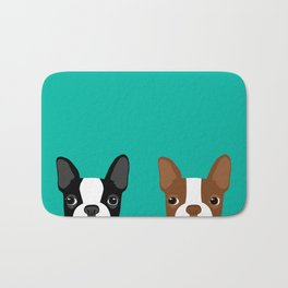 Boston Terriers Bath Mat