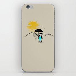 Penguin in the Desert  iPhone Skin
