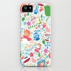 Ponyo Pattern - Studio Ghibli Slim Case iPhone (5, 5s)