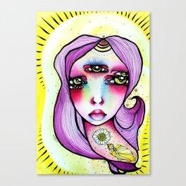 Grape Soda Canvas Print