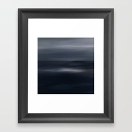 Sea glow Framed Art Print