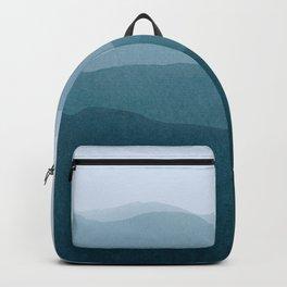 gradient landscape Backpack