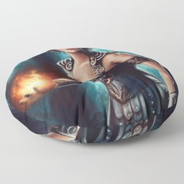 Warrior Queen Floor Pillow