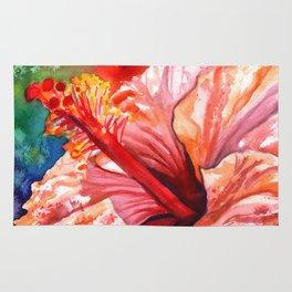 Tropical Hibiscus 2 Rug
