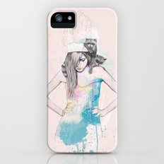 Raccoon Love Slim Case iPhone (5, 5s)