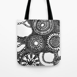 graphic dots pattern Tote Bag