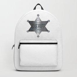 Sheriff Badge Backpack