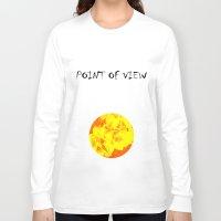 ali gulec Long Sleeve T-shirts featuring Ali orange by Kerens