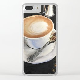 Latte Leisure Clear iPhone Case