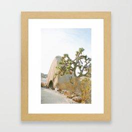 Jumbo Rocks Campground, Joshua Tree Framed Art Print