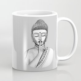 Shh... Do not disturb - Buddha Coffee Mug