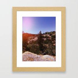 Poway, California Framed Art Print