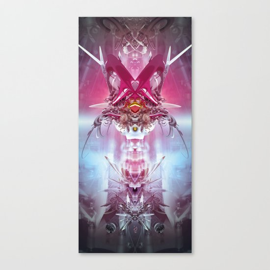 Spinal Tyrant Canvas Print