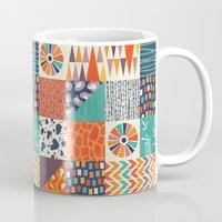 alisa burke Mugs featuring OUT OF AFRICA by Daisy Beatrice